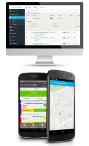 דיווח נוכחות באפליקציה כולל מיקום מדויק GPS , דיווח נוכחות באינטרנט מכל מקום כולל הגבלת IP